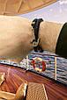 """Подарочный набор мужской """"Wallet Square Box"""": кошелек кожаный и браслет кожаный с якорем. Цвет черный, фото 7"""