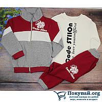 Спортивный костюм тройка для мальчика Размеры: 2,3,4,5 лет (5865-1)