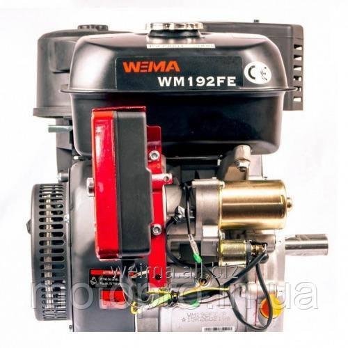 Двигатель WEIMA  WM192FE-S, 25мм, шпонка, эл/старт, бензин 18л.с.