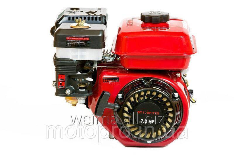 Двигатель WEIMA  BТ170F-T/25 для ВТ1100-шлицы 25мм, бензин 7.0л.с.