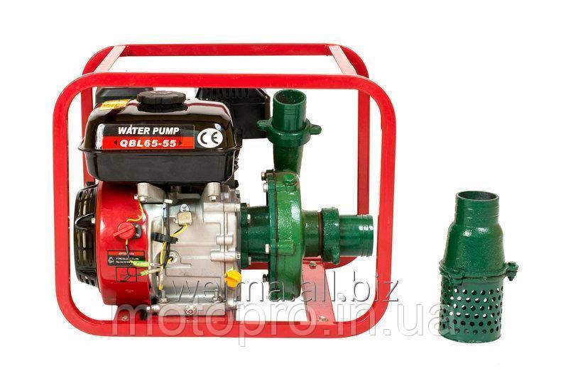 Мотопомпа Вейма WEIMA WMQBL65-55, бензин, высоконапорная, напор 60м, хорошо для капельного полива