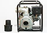 Дизельная помпа Weima  WM CGZ 100-30 двигатель WM188FВ, 12л.с.  Патрубок 100мм,  120куб/час, фото 3