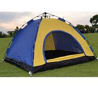 Палатка 4-х местная туристическая 2*2м (17764)