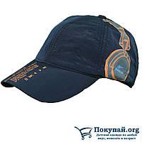 Синяя Зимняя кепка на флисе (sn0010)