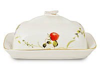 Масленка с крышкой Lefard Лесная ягода 17х12х7 см