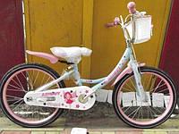 Детский двухколесный велосипед Azimut Angel Ангел  20 дюймов