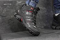 Чоловічі зимові  кросівки 3758 Adidas Fastr чорні