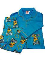 Теплая пижама на мальчика 98,104,116,128 см