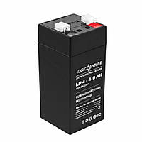 Аккумулятор LogicPower LPM 4V 4АH (LPM 4-4 AH)