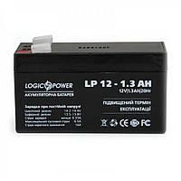 Аккумулятор LogicPower LP 12V 1,3AH (LP 12-1.3AH)