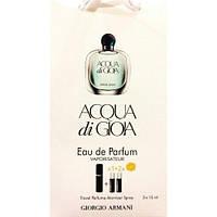 Парфюмированная вода с феромонами Giorgio Armani Acqua di Gioia 3х15 мл.