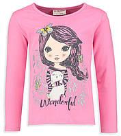 Реглан для девочки LC Waikiki/ ЛС Вайкики розового цвета с девочкой