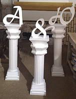 Свадебный декор, обьемные буквы, вывески фасадный декор
