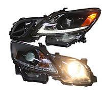 Штатная 2006 по 2011 год для Lexus GS300 GS350 GS430 GS450 LED головная оптика черный ободок SN