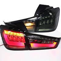 Штатная LED задняя оптика 2012 по 2014 год YZ для Outland Sport ASX RVR дымчатый черный цвет