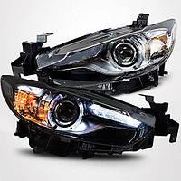 Штатная 2013 по 2015 год для Mazda 6 Atenza LED головная оптика LD