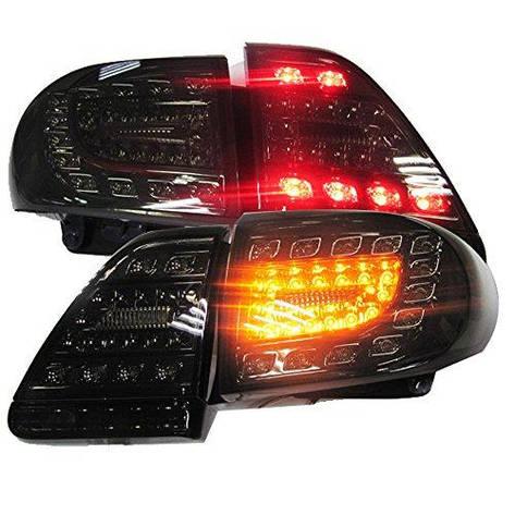 Штатная для Toyota Corolla Altis LED задняя оптикаs задняя оптика 2011 по 2013 год дымчатый черный YZ, фото 2