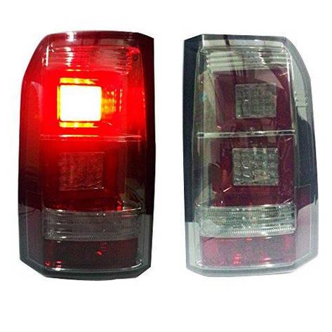 Штатная 2004 по 2013 год для Land Rover Discovery LED задняя оптика дымчатый черный SN, фото 2