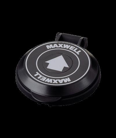 Maxwell черный ножной палубный Выключатель