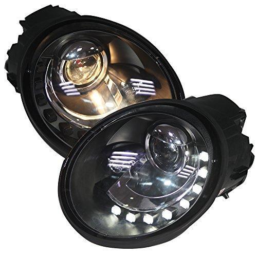 Штатная для Volkswagen Beetle LED головная оптика 1998 по 2005 год SN