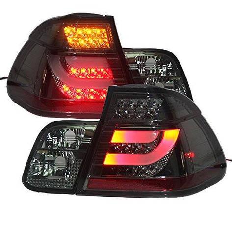 Штатна оптика димчастий чорний для BMW E46 318 320 323 325 330CI., фото 2
