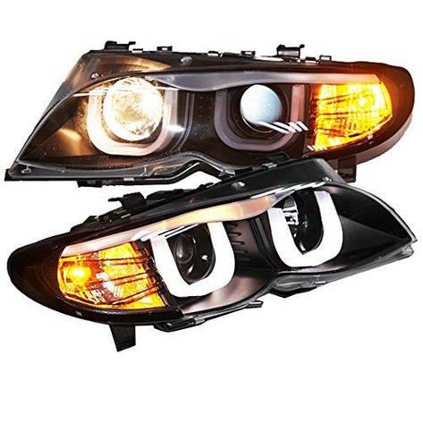 Штатная 2002 по 2006 год для BMW E46 318 320 323 325 330CI LED U Style головная оптика, фото 2