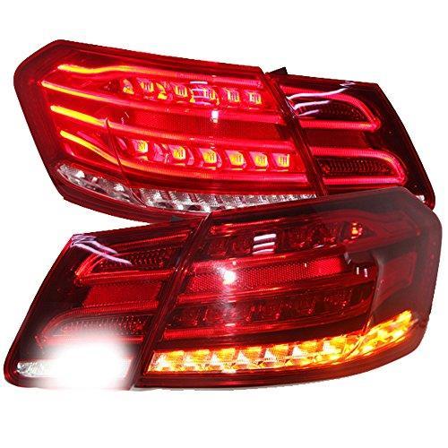 Штатная 2009 по 2012 год для Mercedes-Benz W212 LED задняя оптика красный цвет LF