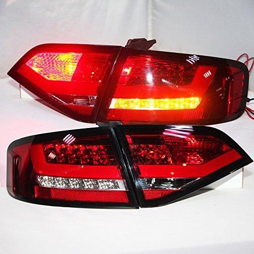 Штатна 2009 по 2012 рік для Audi A4L B8 LED смуга задня оптика для original car з Halogen standard version червоний білий SN