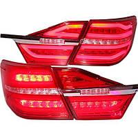 Штатная 2015 год для Toyota Camry LED задняя оптика красный цвет с Laser Fog Light BZW