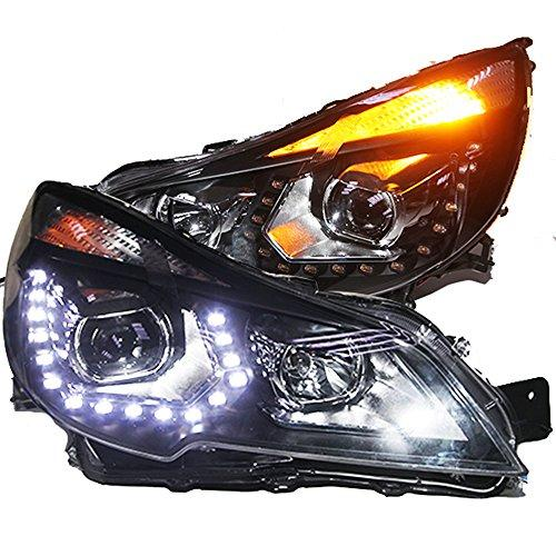 Штатная Subaru Outback 2010 по 2013 год LED Front Light PW