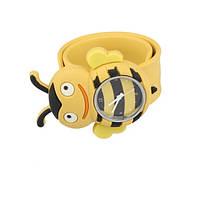 Детские наручные кварцевые часы «Пчелка» 100-29, желтый