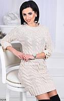 Платье плотная вязка