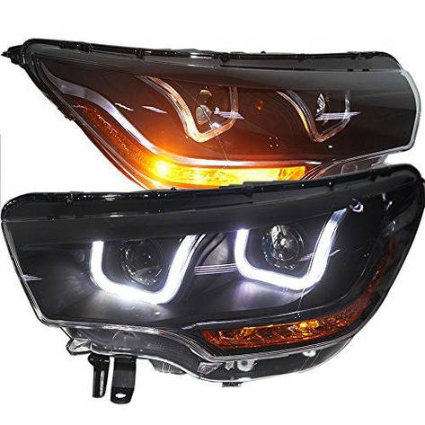 Штатная 2012 по 2014 год для Citroen C4L LED U Type Headlamp GS, фото 2