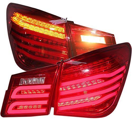 Штатная 2009 по 2013 год для Chevrolet Cruze LED задняя оптика для Bens Style WH красный цвет
