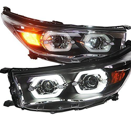 Штатная 2014 по 2015 год для Toyota Highlander LED головная оптика LD