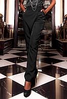 Женские классические брюки Пармил черного цвета