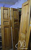 Двусторонние деревянные сосновые двери 4 штуки