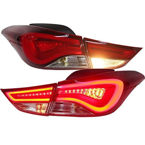 Штатная LED полоса Rear Lamps 2011 по 2014 год для Hyundai Elantra Avante задняя оптика WHV3