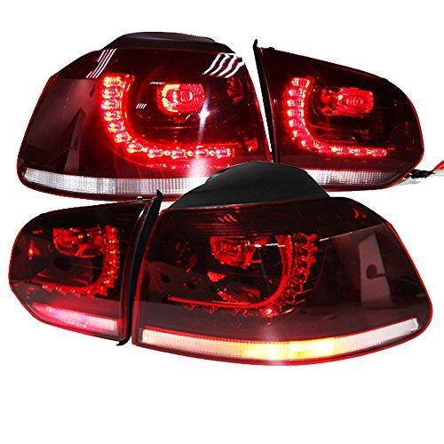Штатная 2009 по 2012 год для VW Golf 6 MK6 LED задняя оптика задняя оптика TC