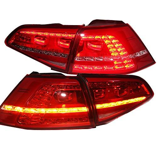 Штатная 2013 по 2015 год для VW Golf 7 MK7 LED задняя оптика задняя оптика TC