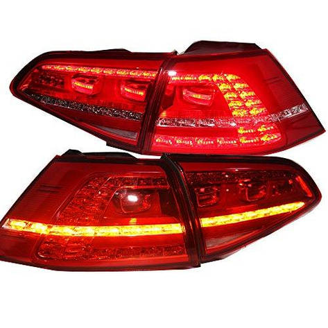 Штатная 2013 по 2015 год для VW Golf 7 MK7 LED задняя оптика задняя оптика TC, фото 2