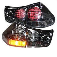Штатная для Lexus 2003 по 2008 год RX330 RX350 LED задняя оптика дымчатый черный LF