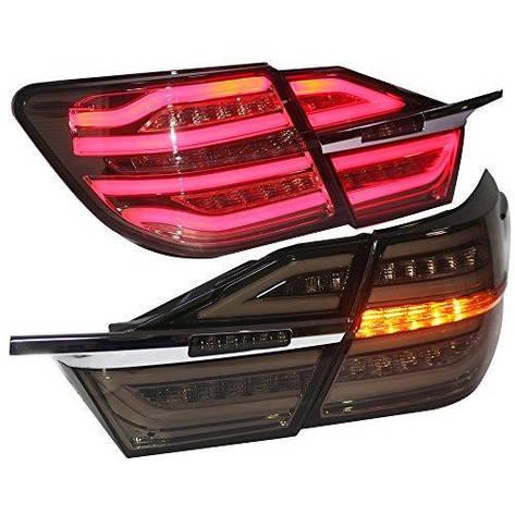 Штатная 2014 по 2015 год LED полоса Rear Lamps для Toyota Aurion Camry V55 LED задняя оптика, фото 2