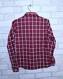 Рубашка в клетку для мальчиков на рост 86,92,98,104,110см, фото 3