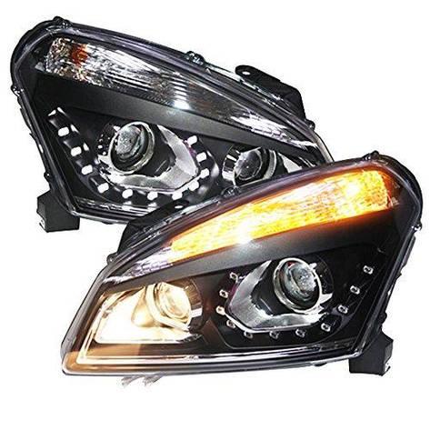 Штатная LED головная оптика 2008 по 2012 TLZ для Nissan Qashqai, фото 2