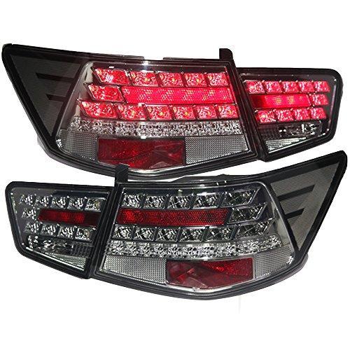 Штатная LED задняя оптика Rear Light черный цвет WH 2009 по 2013 год для Kia Forte Cerato
