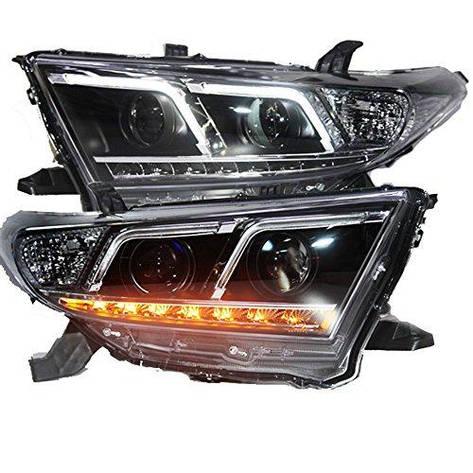 Штатная 2012 по 2013 год для Toyota Highlander LED Front Light TLZ, фото 2