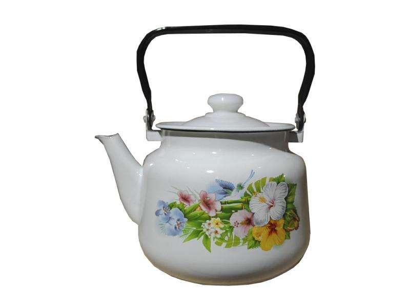 Чайник эмалированный (3.5 л) Epos Колибри, арт. 2713/2Ч