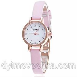 Женские наручные кварцевые часы 100-38, розовый