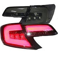 Штатная U.S. Version LED задняя оптика 2013 по 2014 год для Toyota Camry дымчатый черный цвет